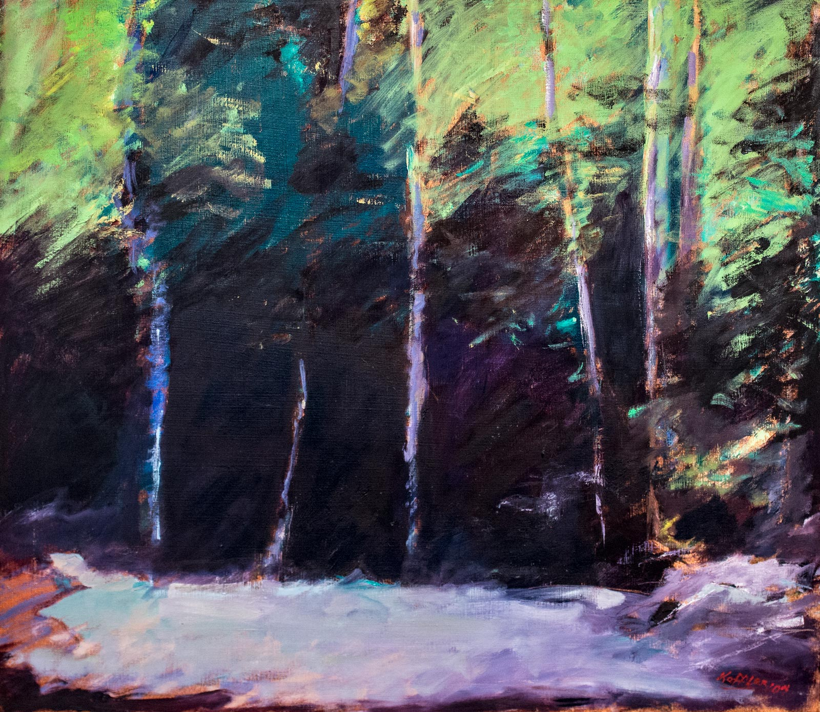 Robert-Steven-Koffler---Art-Catalog_Dense_Trees_2007_26x30